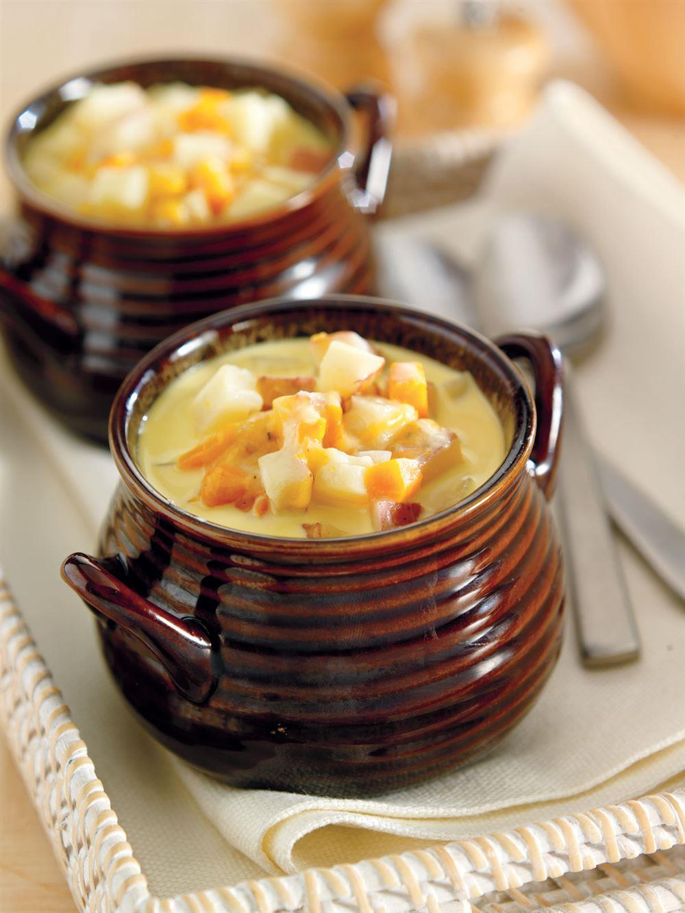 Potato Cheddar Soup from Crock-Pot® Hearty Soups, Stews & Chilies cookbook (item # 2269800)