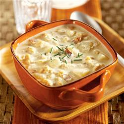 New England Clam Chowder Recipe from Crock-Pot® Hearty Soups, Stews & Chilies cookbook (item # 2269800)