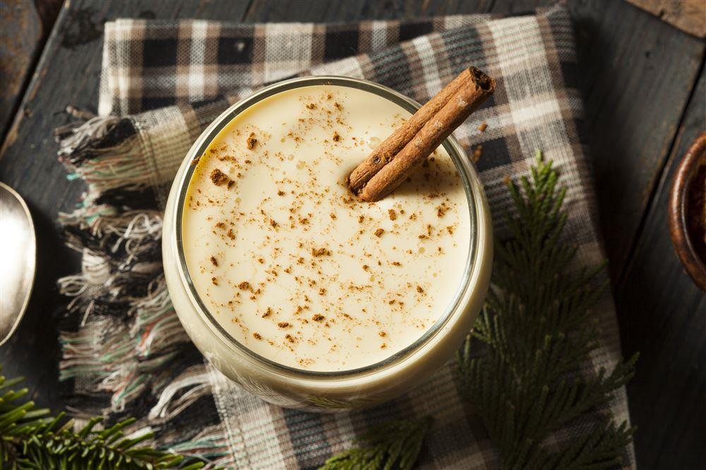 Enjoy festive egg nog without the guilt!