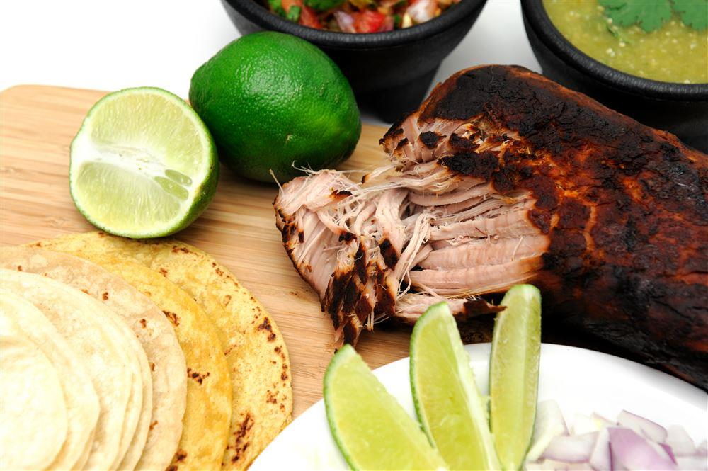 Pork Carnitas in Verde Sauce