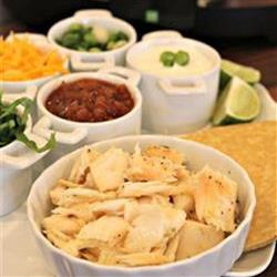 Easy & delicious Crock-Pot® slow cooked fish tacos