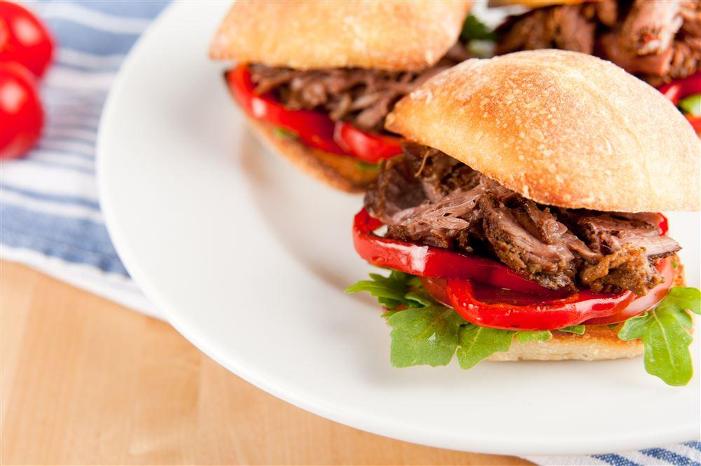 Smoky Java Beef Sandwiches