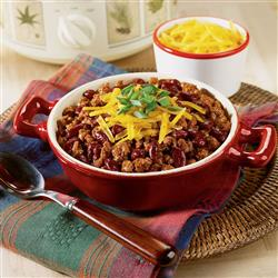 Weeknight Chili recipe from Crock-Pot® Hearty Soups, Stews & Chilies cookbook (item # 2269800)