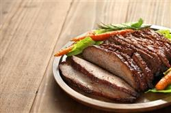 Beef brisket is tasty and satisfying.
