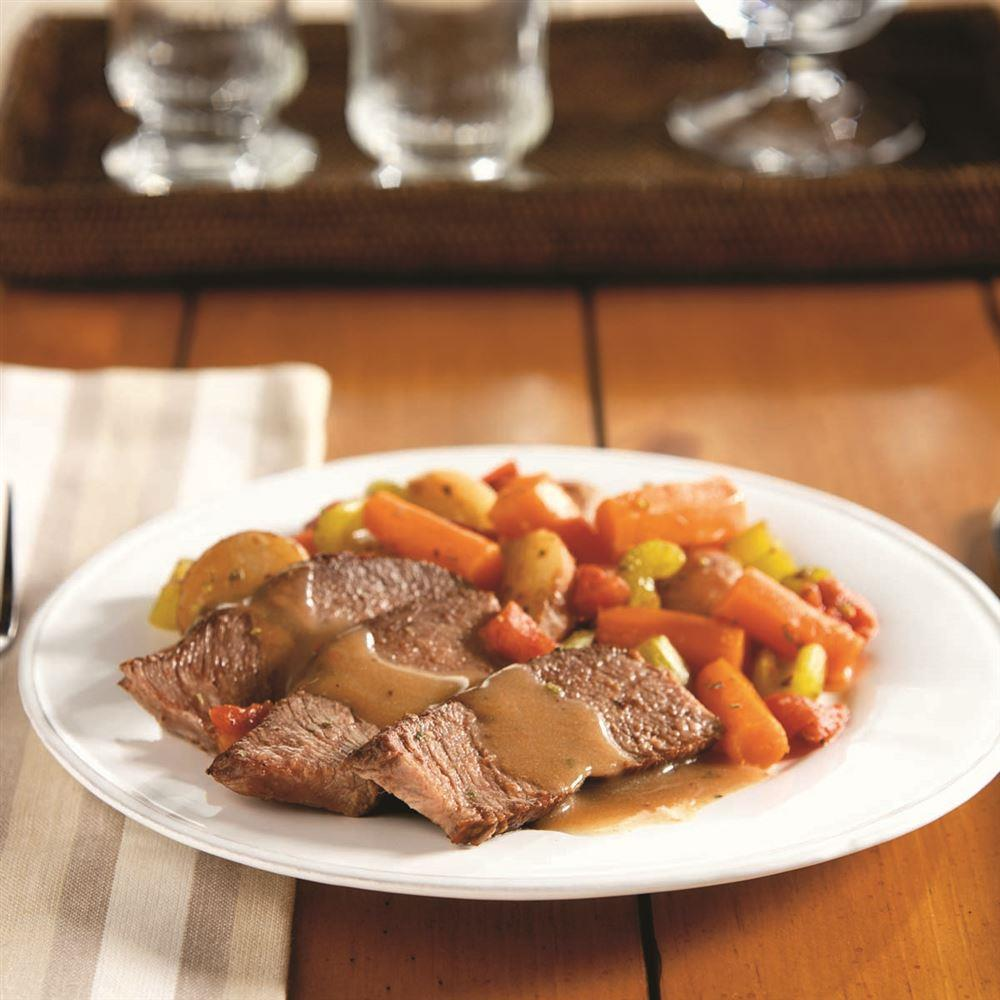 Classic Pot Roast This recipe and more can be found in the Crock-Pot® Slow Cooker Cookbook.