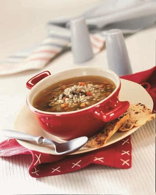 This Mushroom Barley Stew recipe & image is from the Crock-Pot® Slow Cooker Cookbook