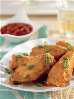 Thai Chicken Wings Recipe from the Crock-Pot® Wings and Things cookbook. Item # 2267700