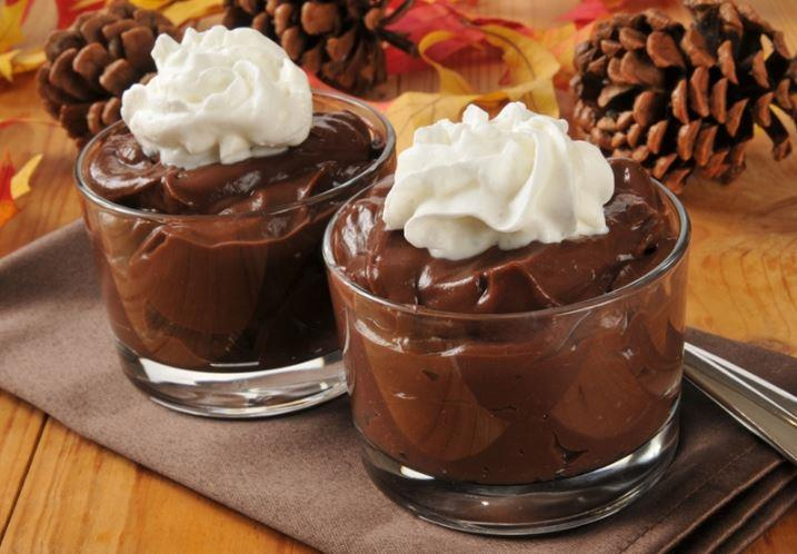 Enjoy your pudding with a dollop of whipped cream on top, if desired.