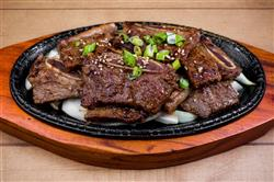 Garlic and Green Onion Short Ribs over Ginger Rice