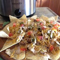 Get The Party Started Chicken Nachos!