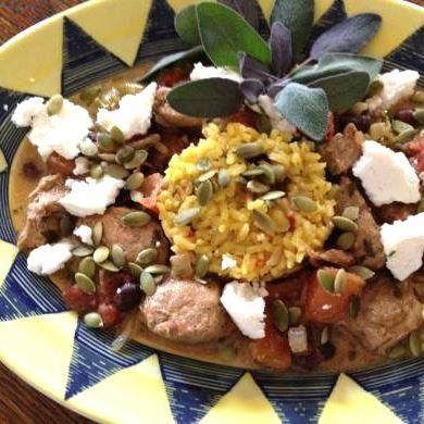 Green Chile Lime Pepita Pork