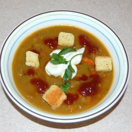 Tex-Mex Split Pea Soup