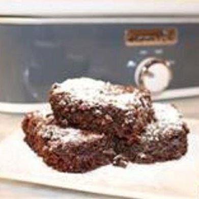 Decadent Crock-Pot® Slow Cooker Brownies