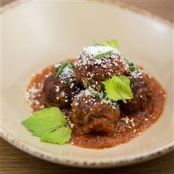 Meatballs in Chipotle